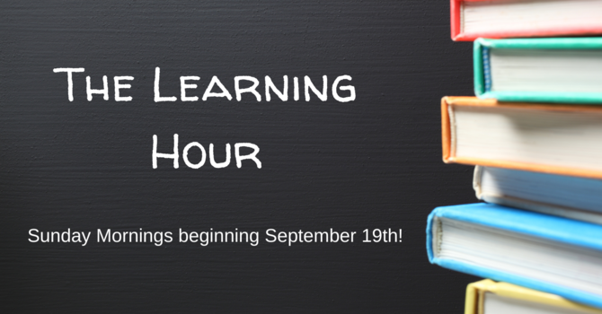 The Learning Hour! image