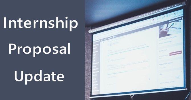 Ministry Internship Update image
