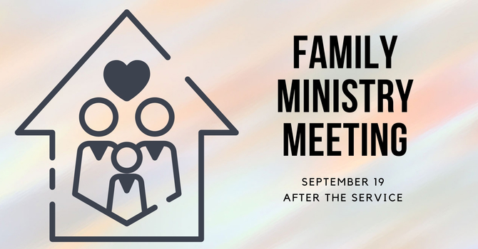 Family Ministries Meeting