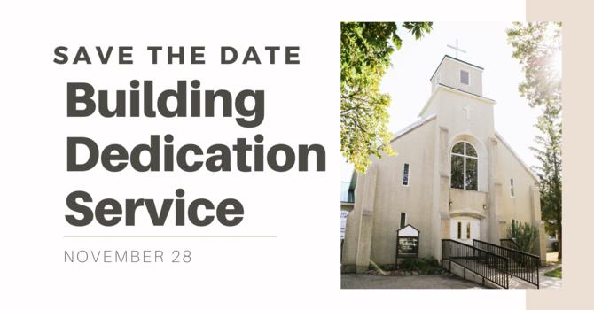 Building Dedication Service