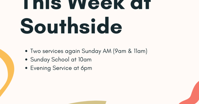 This Week at Southside (9.12.21) image