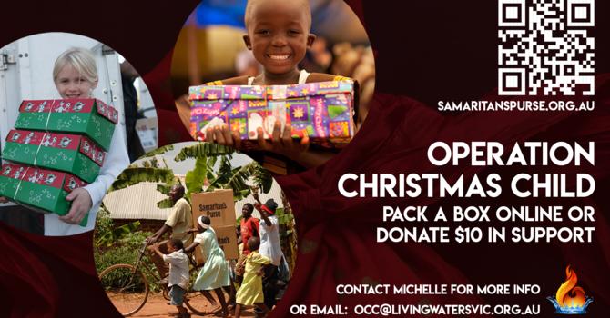 Operation Christmas Child 2021 image