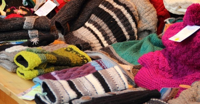Donations of Warm Clothing image