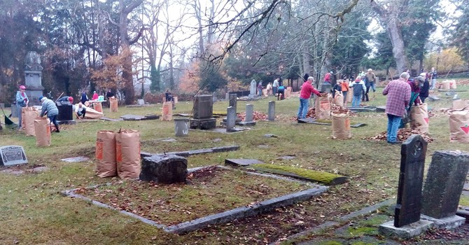 St. Andrew's Fall Cemetery Cleanup