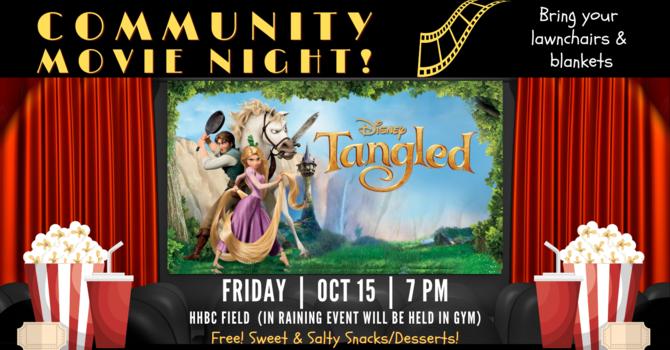 "Community Movie Night ""Tangled"""
