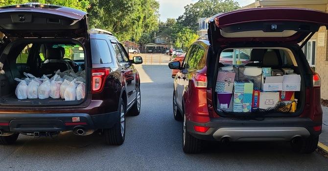 School Supplies for Oscar J. Pope Elementary School. image
