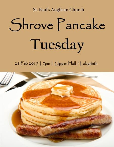 Shrove Pancake Tuesday
