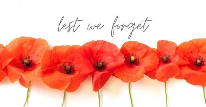 Remembrance Day Assemblies