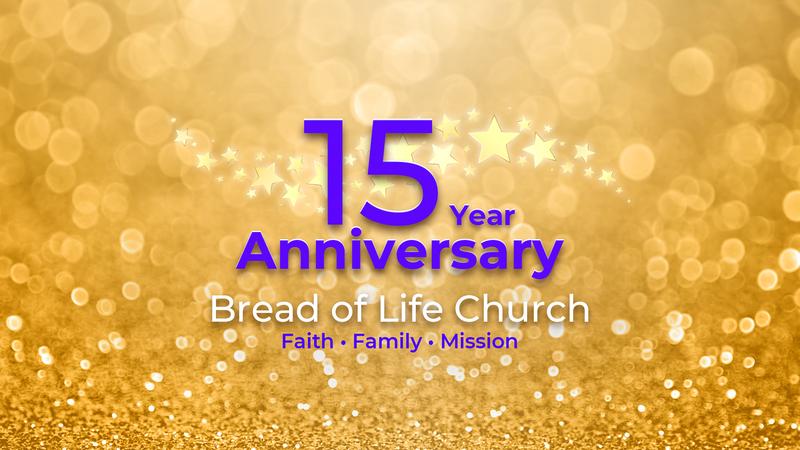 15th Anniversary Celebration Service