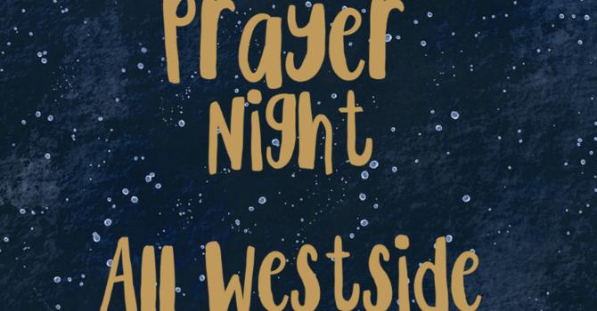 Westside Prayer Night - Audio