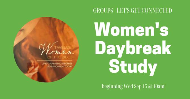 GROUPS: Women's Daybreak