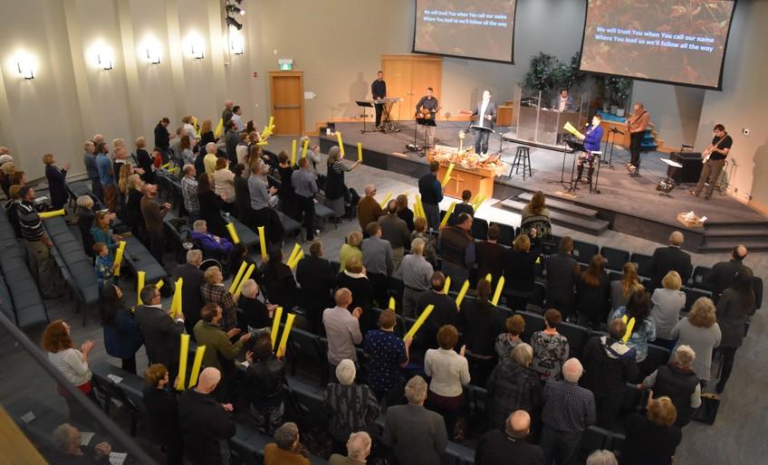 Celebrating on Dedication Sunday