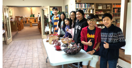 Youth Raise Money for PWRDF!