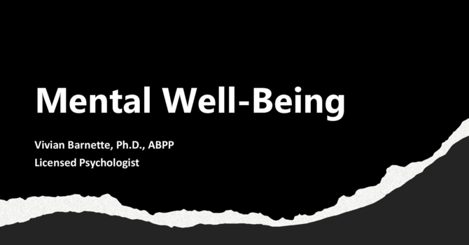 Mental Well-Being image