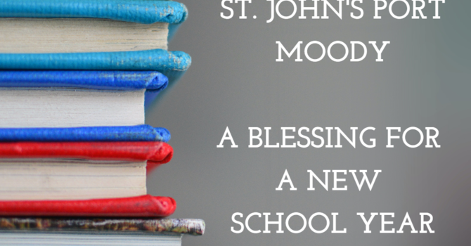 A Blessing for a New School Year image