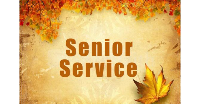 Senior Worship Service at Maplewood House