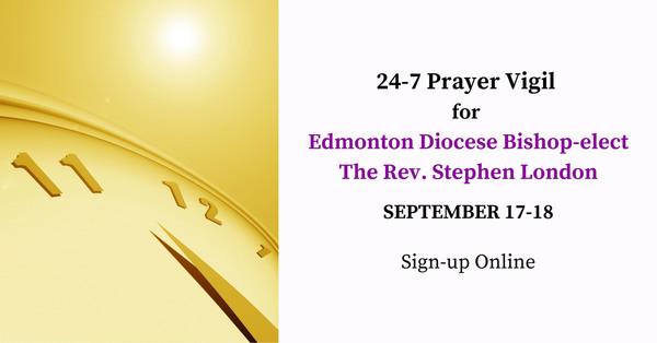 24h Prayer Vigil for Bishop-Elect
