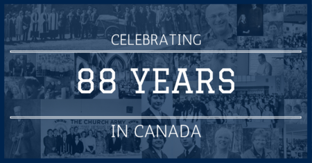 Celebrating 88 Years of Ministry in Canada