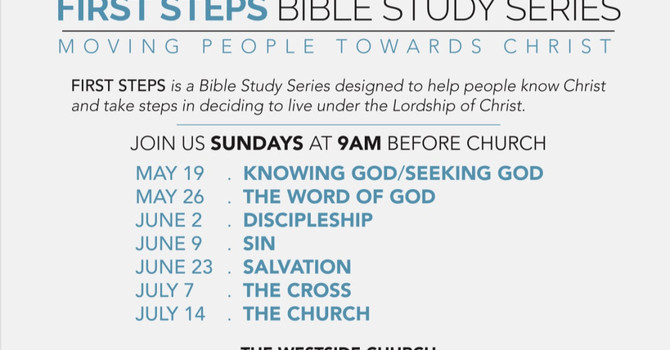 First Steps Bible Study Series-Knowing God - Audio