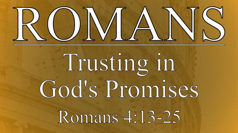 Trusting in God's Promises