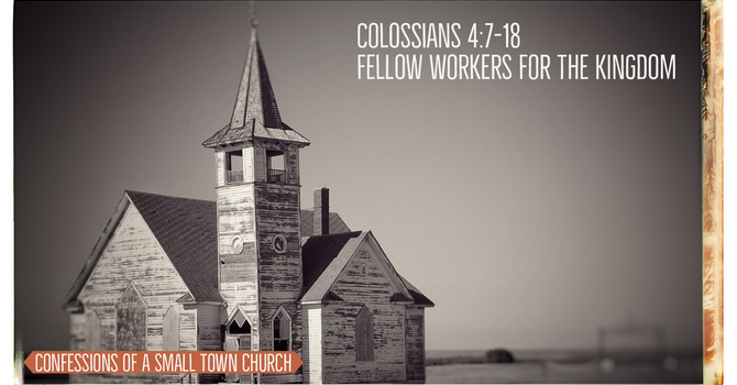 Fellow Workers for the Kingdom
