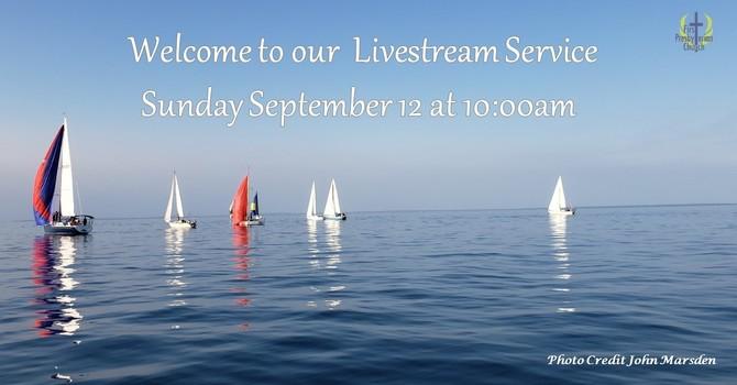 Sunday September 12 Service