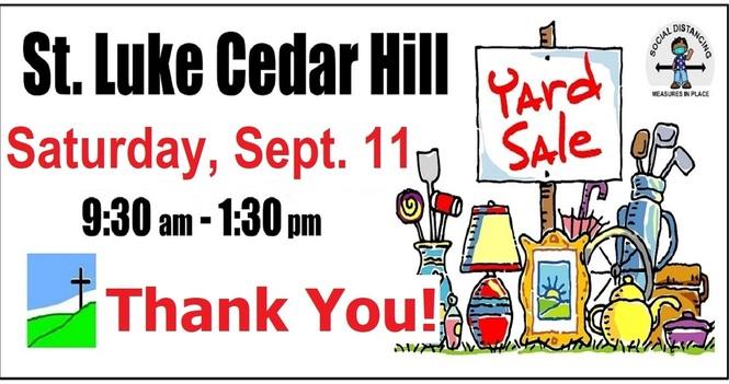 St. Luke's Yard Sale 2021 - Thank You!