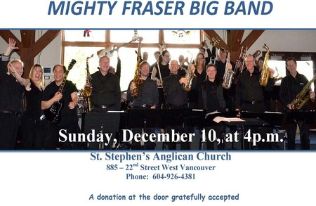 Jazz Vespers with the Mighty Fraser Big Band
