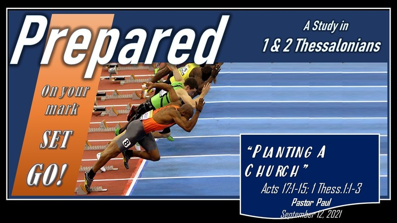 1 & 2 Thessalonians 01 - Planting a Church
