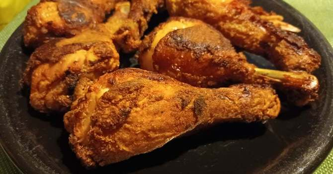Alice Mines' Oven Fried Chicken image