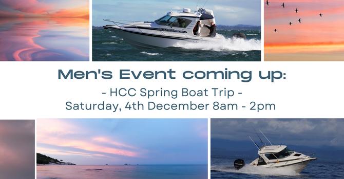 HCC Spring Boat Trip