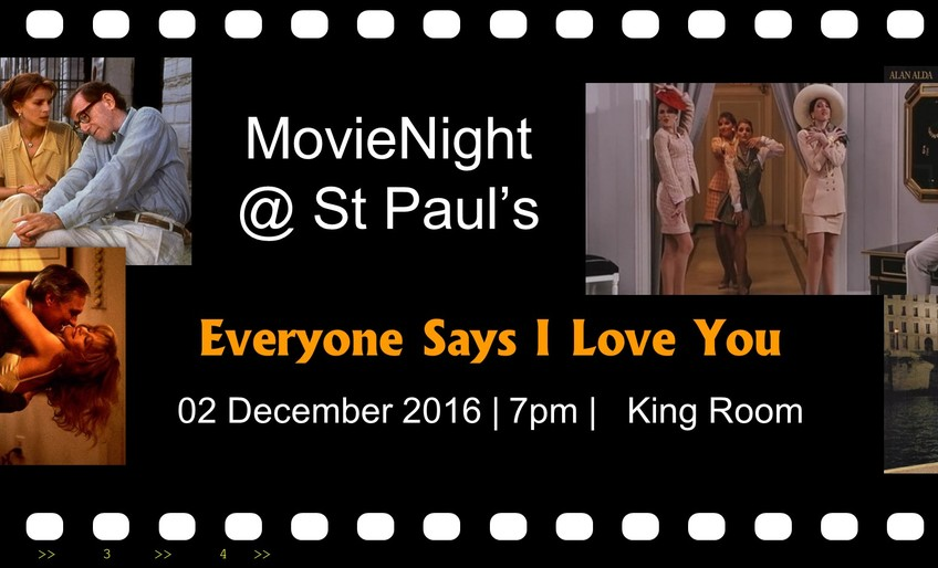 "MovieNight present ""Everyone Says I Love You"""
