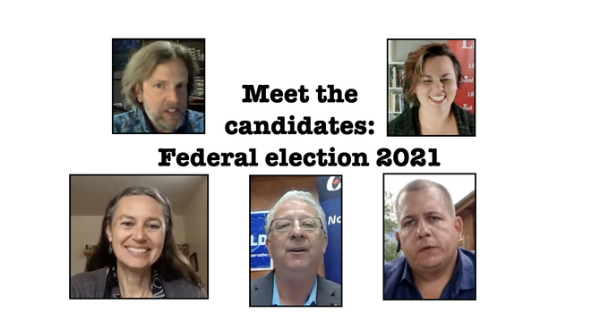 Meet the candidates - election 2021 image