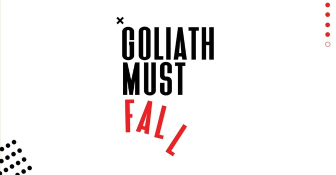Goliath Must Fall Journal image