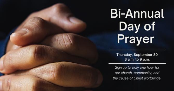 Bi-annual Day of Prayer