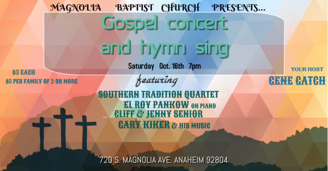 Gospel Concert and Hymn Sing