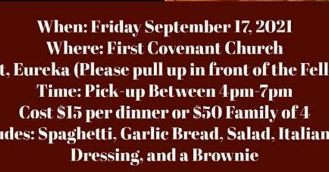 TLC Drive-Thru Spaghetti Dinner