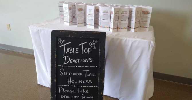 Tabletop Devotions