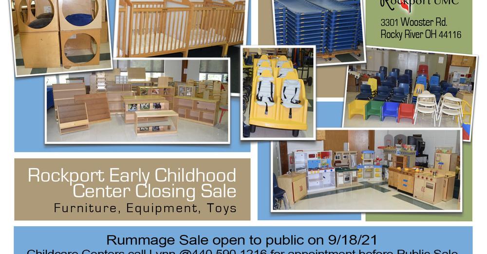 Childcare Closing Rummage Sale