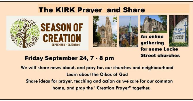 The Kirk Prayer and Share