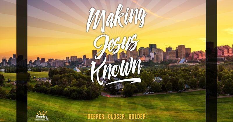 "Making Jesus Known ~ ""Final Words"""