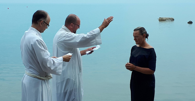 'Gently does it':  In-person worship in Huron churches