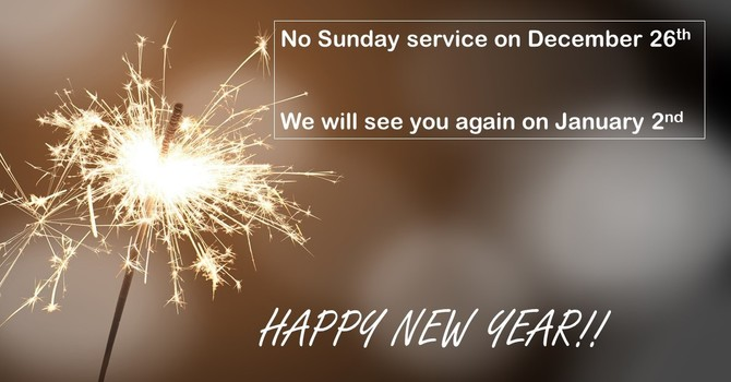 No services on Dec 26th