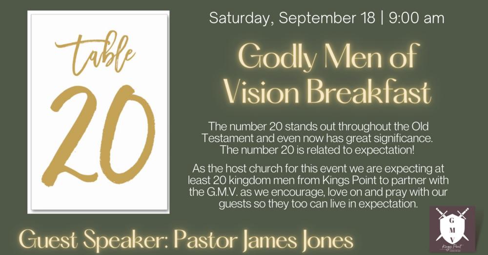 Godly Men of Vision Breakfast