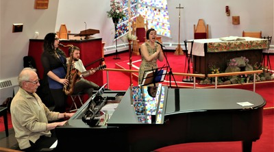 Clare Twiddy Trio at Jazz Vespers Ministry