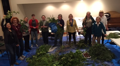 2015 wreath making Ministry