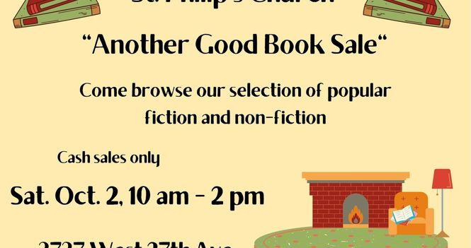 """""""Another Good Book!"""" Sale"""