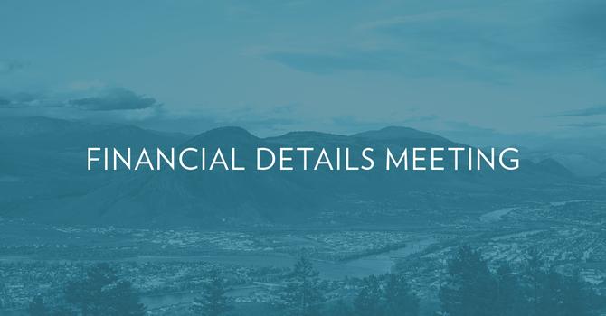 Financial Details Meeting