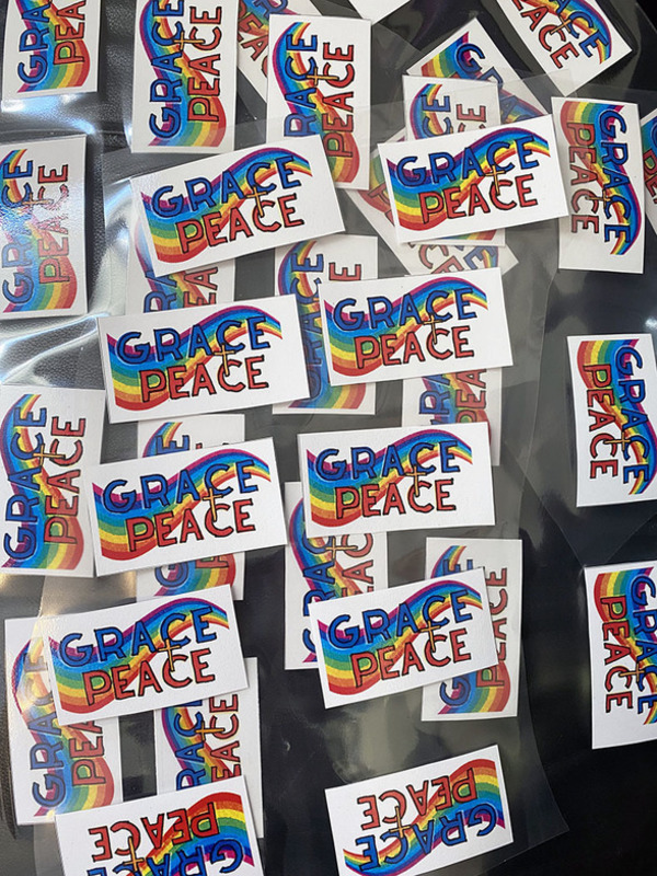 Back to School Grace and Peace Tags at St. Cuthbert's