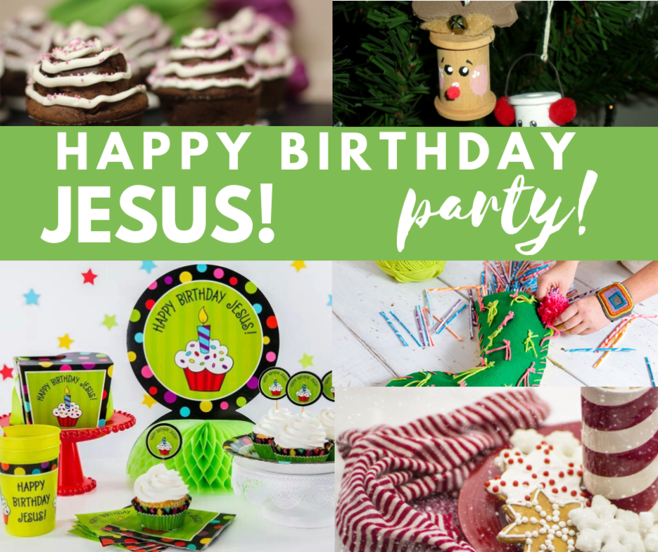 Birthday Party For Jesus Children And Youth Ministry St